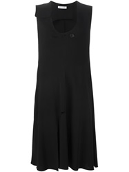 J.W.Anderson J.W. Anderson Front Button Fastening Dress Black