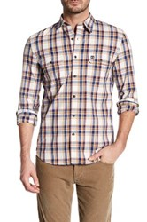Timberland Long Sleeve Slim Fit Check Shirt Multi
