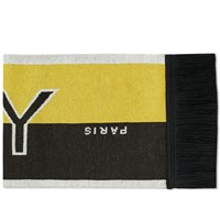 Givenchy Logo Football Scarf Black