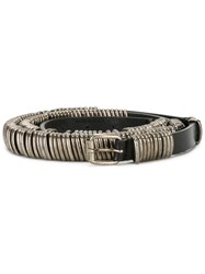 Ann Demeulemeester Studded Belt Black