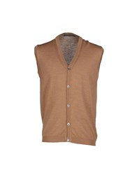 Private Lives Knitwear Cardigans Men Brown