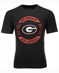 Colosseum Men's Georgia Bulldogs Circle Logo T Shirt Black