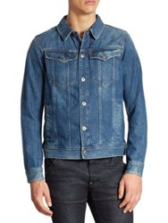 G Star Slim Fit Denim Jacket Medium Age