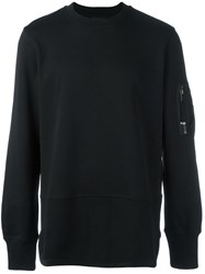 Diesel Black Gold 'Storney Lf' Sweatshirt Black