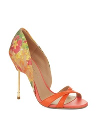 Kurt Geiger Beverley High Heel Sandals Orange