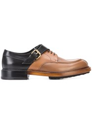 Pierre Hardy Twin Derby Shoes Brown