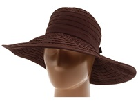 San Diego Hat Company Rbl299 Crushable Ribbon Floppy Hat Brown Traditional Hats