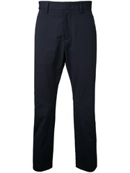 Attachment Skinny Trousers Blue