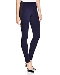 Lafayette 148 New York Pintucked Seam Leggings