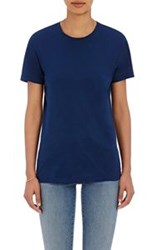 Barneys New York Crewneck T Shirt Blue