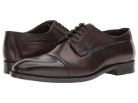 Canali Cap Toe Oxford Brown Lace Up Cap Toe Shoes