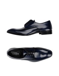 Thompson Lace Up Shoes Dark Blue