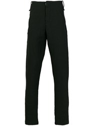 Lost And Found Ria Dunn High Waisted Straight Leg Trousers Linen Flax Ramie Cotton Black
