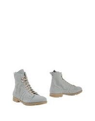 O.X.S. Ankle Boots Light Grey