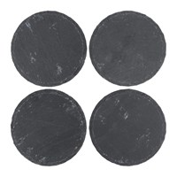 Amara Round Slate Coasters Set Of 4