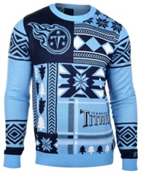 Forever Collectibles Men's Tennessee Titans Patches Christmas Sweater