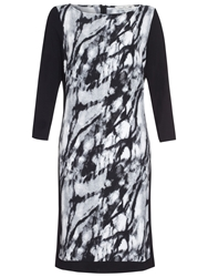 Damsel In A Dress Graphite Print Dress Black