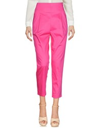 Atos Lombardini Trousers Casual Trousers Fuchsia