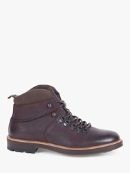 Barbour Affric Leather Boots Dark Brown