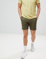 Selected Homme Chino Short Green