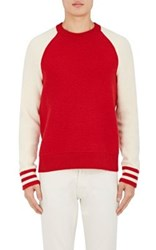 Rag And Bone Men's Liam Wool Blend Sweater Red