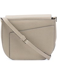 Valextra Hobo Crossbody Bag Nude And Neutrals
