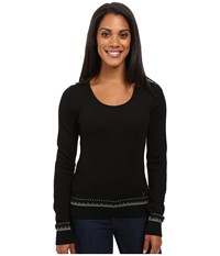 Dale Of Norway Mette Sweater Black Dark Grey Women's Sweater