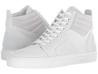 Del Toro High Top Boxing Sneaker White Lace Up Casual Shoes
