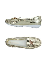 Laura Biagiotti Loafers Gold