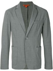 Barena Relaxed Suit Jacket Grey