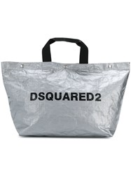 Dsquared2 Oversized Tote Grey