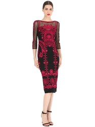 Temperley London Embroidered Tulle Dress