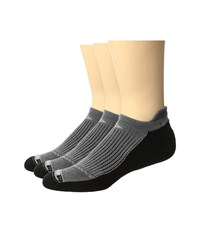 Drymax Sport Running No Show Tab 3 Pack Anthracite Black No Show Socks Shoes