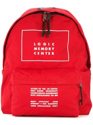 Undercover Logic Memory Center Backpack Red