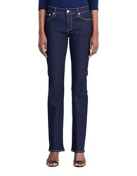 Lauren Ralph Lauren Mid Rise Five Pocket Pants Indigo