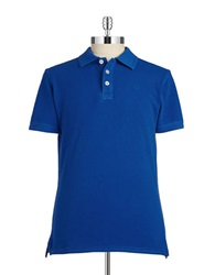 7 Diamonds Classic Polo Blue Stream