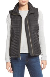 Vince Camuto Women's Contrast Trim Quilted Vest