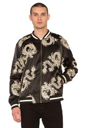 Standard Issue Dragon Bomber Jacket Black