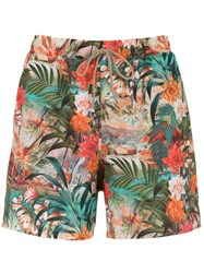Lygia And Nanny Printed Gil Swim Shorts Green