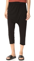 Enza Costa Harem Pants Black