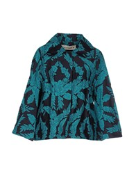 Shirtaporter Suits And Jackets Blazers Women Turquoise