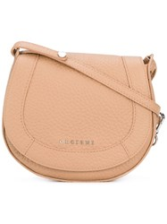 Orciani Cross Body Satchel Women Leather One Size Nude Neutrals
