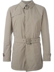 Herno Padded Trench Coat Brown