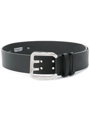 Dsquared2 Icon Buckle Belt Women Calf Leather 75 Black