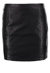Noisy May Nmrebel Mini Skirt Black