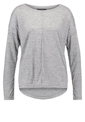 Banana Republic Driver Long Sleeved Top Heather Grey