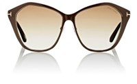 Tom Ford Women's Lena Sunglasses No Color