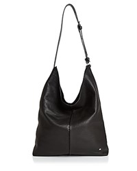Halston Heritage Tina North South Leather Shoulder Bag Black