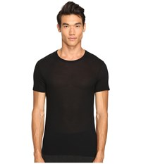 Atm Anthony Thomas Melillo Modal Crew Neck T Shirt Black