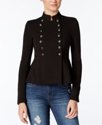 American Rag Peplum Band Jacket Only At Macy's Classic Black